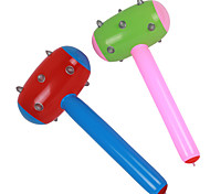 Inflatable Hammer With Chru Mace Shape Children'S Toys Activity Props(Random Color)