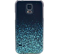 Blue Stars Pattern Hard Case Cover for Samsung Galaxy S5 I9600