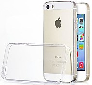 Ultra-thin 0.3mm TPU Soft Case for Apple iPhone 5/5S(Assorted Colors)