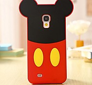 Cartoon Mouse Silicone Cell Phone Case for Samsung Galaxy S4 i9500