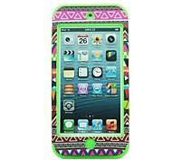 3-en-1 Diseño Nacionalidad Patrón dura protectora del caso para el iPod touch 5