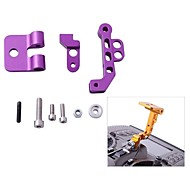 CNC Aluminum Alloy FPV Monitor Mounting Bracket for Transmitters in Purple