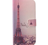 Eiffel Tower  Design PU Leather Full Body Case for HTC ONE M8