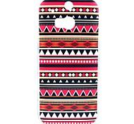 Tribal Tattoo Teppich Muster Hülle für HTC One 2 M8