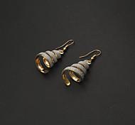 Weinlese-Schraube ShapeGold Alloy Ohrringe (Gold, Silber) (1 Paar)