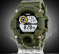 SKMEI® Men's Watch Military Sports Multi-Function LCD Water  And Shock Resistant  Cool Watch Unique Watch