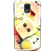 Towel Cake Pattern Hard Case Cover for Samsung Galaxy S5 I9600
