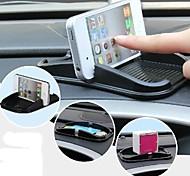 silicone carro celular pad suporte para iphone (preto)