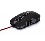 JIANSHENGYIZU Ergonomic High-Precision 4-Mode DPI  USB 2.0 Gaming Mouse