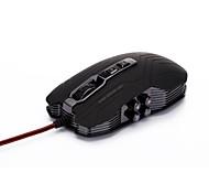 JIANSHENGYIZU ergonómico de alta precisión de 4 modos DPI USB 2.0 Gaming Mouse