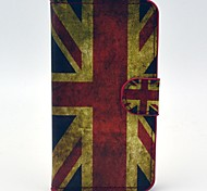 World Cup Retro Flag Pattern Leather Case with Card Slot and Stand for Samsung Galaxy Express 2 G3815