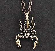Non Mainstream Personality Scorpion Pendant Necklace