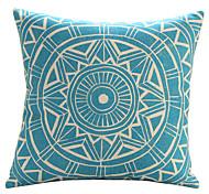 """18 """"Exotic geometrica cotone / lino Cuscino copertura decorativa del modello"""