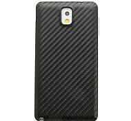 Balck Knit Grano modello in plastica Sostituzione della batteria della copertura posteriore Custodia per Samsung Galaxy Nota3 N9000