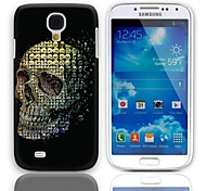 Skulls Pattern Hard Case with 3-Pack Screen Protectors for Samsung Galaxy S4 mini I9190