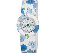 Para niños de colores Bendable banda de silicona Slap Watch