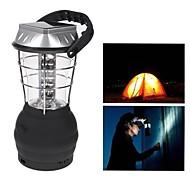 36 LED Luzes brancas manivela Lanterna Solar Camping lâmpada com carregador