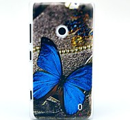 Beautiful Butterfly Pattern Hard Case for Nokia Lumia N520