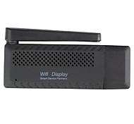 Apoio FMR WIFI exibição Dongle TV Box Miracast Airplay DLNA-Black