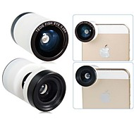 TEOG 3-en-un grand angle avec 0.28x Fish Eye et Macro photo Objectif pour iPhone 5/5S/5C
