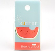 Summer Watermelon Pattern Hard Case for Nokia X