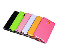 New Colorful Solid Color Soft  TPU Case Cover for Galaxy Note3 Note III N9000