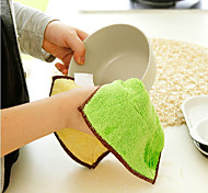 Thicken Classic Design Dish Towel(Random Color)