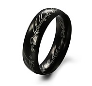 Men's Titanium  Stainless Steel Ring