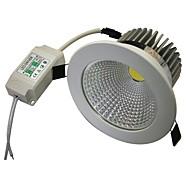 9W 1xCOB 800LM Branco quente 3000-3200K LED luzes de teto (AC 100-240V)