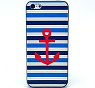 Hard Case Blue and White Anchor Pattern for iPhone 5C