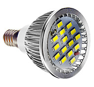 Dimmbar Spot Lampen E14 5.5 W 400 LM 6000-7000 K 15 SMD 5730 Kühles Weiß AC 220-240 V