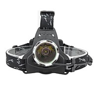 Holyfire Cree XM-L T6 900lm 3-Mode Cool White Headlamp - Black