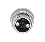 MHS ®New Arrival 420TVL Color IR Vandalproof Dome Camera with 2PC Array LED