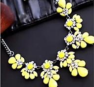 Necklace Statement Necklaces Jewelry Alloy Wedding / Party / Daily / Casual Silver 1pc Gift