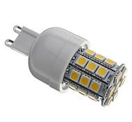 Bombillas LED de Mazorca T G9 4W 30 SMD 5050 330 LM Blanco Cálido AC 110-130 / AC 100-240 V
