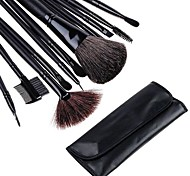 12 PCS Makeup Make Up Make-up Brushes Brush Set with Black Leather Case 3070