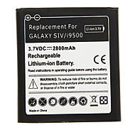 2800mAh Cell phone Battery Black for Samsung Galaxy SIV/i9500 with Charger