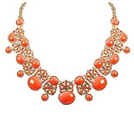 JANE STONE Fashion New Arrival Bubble Flowery Necklace for Women