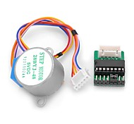 DIY  DC 5V 4-Phase 5-Wire Step Motor with Driver Board Test Module for (For Arduino)