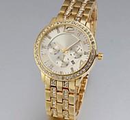 Neutral's Quartz Auto Date Sub-Dial Decoration Steel Band Analog Wrist Watch Cool Watches Unique Watches