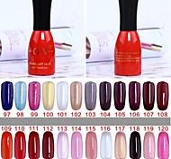 1 Bottle Soak-off Lack UV Colorful Gel Polish No.97-120 (15ml,Assorted Colors)