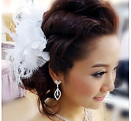 Fashion Bride All Over The Sky Star Feather Hair Clips