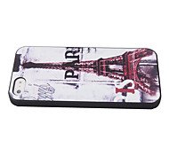 Cas Motif Enkay Tour de protection en plastique pour l'iPhone 5/5 ans