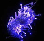100 10m LED azul Cordas Luz Decoração para casamento festa de Natal (220V)