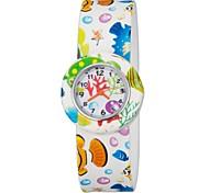 Colorful flessibile banda di silicone Slap Watch per bambini