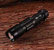 Linternas LED / Linternas de Mano LED 5 Modo 800 Lumens Cree XM-L T6 18650.0 Múltiples Funciones - Otros Aleación de Aluminio