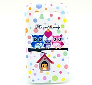 For Samsung Galaxy Case Pattern Case Back Cover Case Owl TPU Samsung Win
