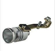 Auto Turbo fischio Turbocharger - Silver (Taglia L)