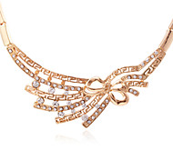 Fashion Diamond Butterfly Pendant Necklace