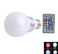 Focos Regulable/Control Remoto NO E26/E27 3 W 1 NO LM K RGB AC 85-265 V